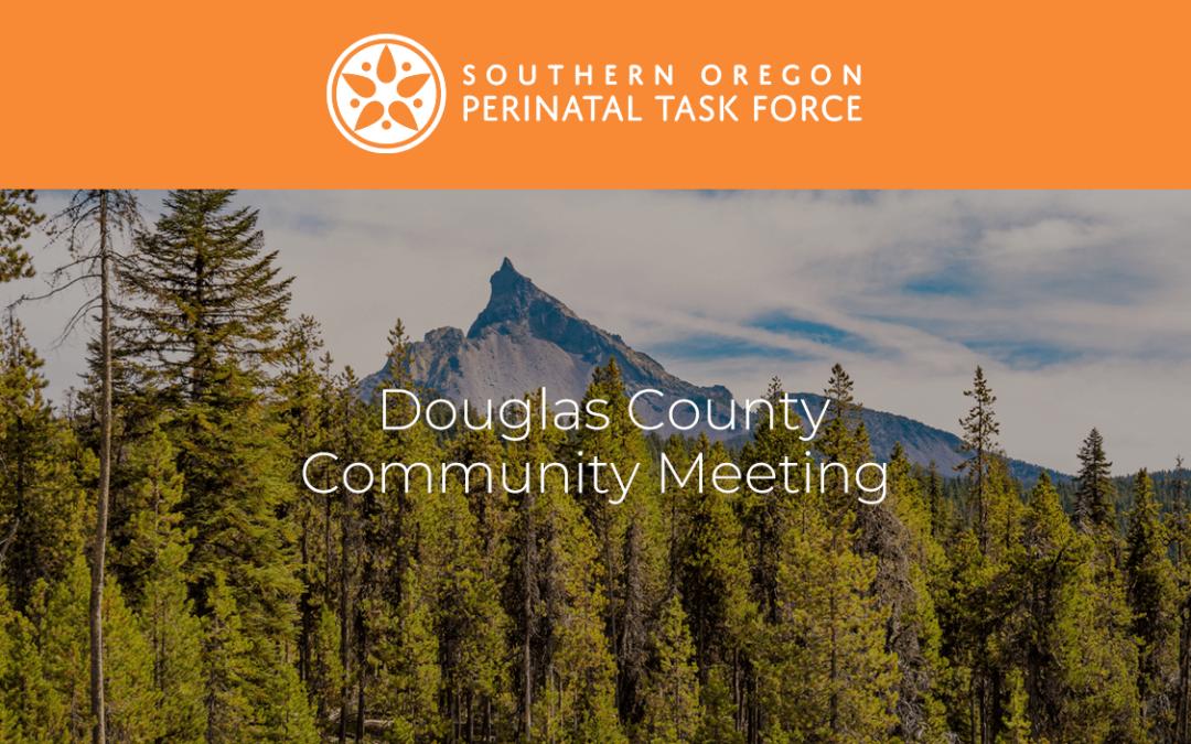 Douglas County Perinatal Task Force Meeting