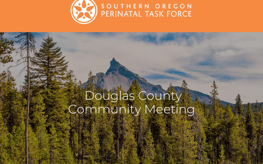 Douglas County Perinatal Task Force Zoom Meeting