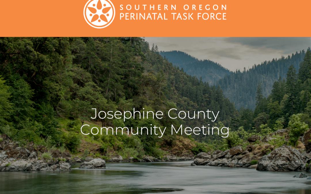 Josephine County Perinatal Task Force Meeting